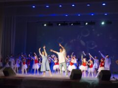 Инклюзивный концерт «Свобода собирает друзей» во Дворце культуры им. П. П. Хузангая