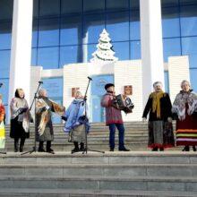 Праздничная концертная программа ДК Хузангая в рамках республиканского марафона «Новогодняя Республика»