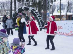 Рождественская программа танцевального коллектива «Восторг» в парке им. А.Г. Николаева