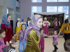 «Веселая, игривая Масленица дивная!» в ДК Хузангая
