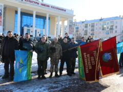 Комбинированный марш-бросок 31-ой отдельной гвардейской десантно-штурмовой ордена Кутузова II степени бригады в МБУК МК «Победа»