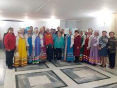 Выступление народного хора «Ветеран» ко Дню всех влюбленных