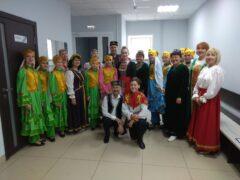 Выступление народного ансамбля татарской песни «Ялкын» в ДК Салют в честь Дня Святого Валентина