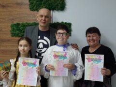 Народный ансамбль татарской песни «Ялкын» на конкурсе семейного творчества в ДК Салют