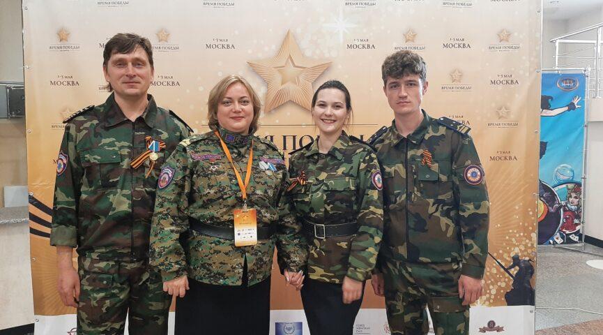 Народный ансамбль патриотической песни «Живи и помни» в фестиваль-конкурсе «Время Победы»